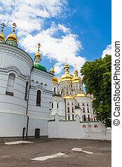 Kiev Pechersk Lavra - view of the ancient Kiev Pechersk...