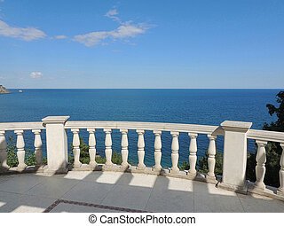 View of the Black Sea.