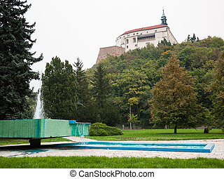 View of the castle and park