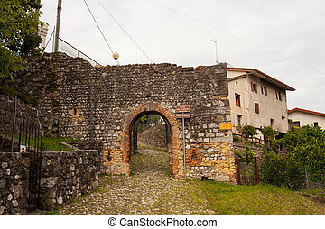 View of the Castle hamlet, Fagagna - View of the Castle...