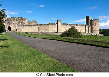 View of the Castle in Alnwick