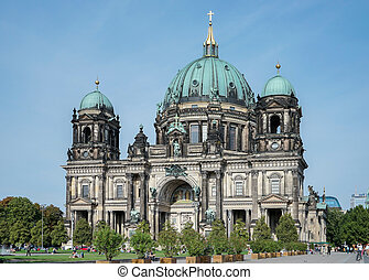 View of the Cathedral in Berlin