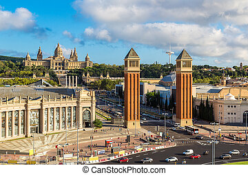 View of the center Barcelona