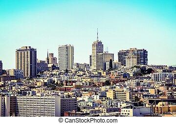 view of the city at San Francisco