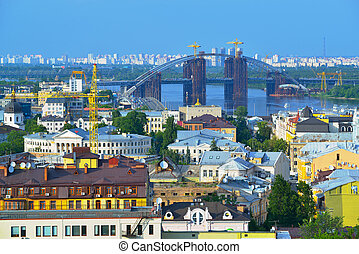 View of the city Kiev
