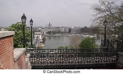 View of the city of Budapest.