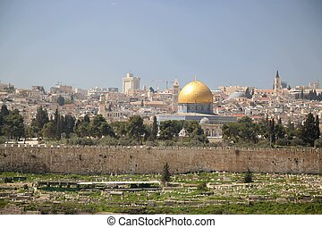 View of the city of Jerusalem