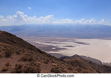 View of the Death Valley in California - USA