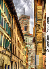 View of the Florence Cathedral - Italy
