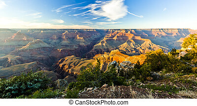 View of the Grand Canyon in Arizona