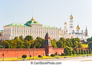 View of the Grand Kremlin Palace