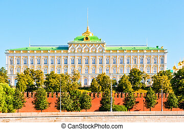View of the Grand Kremlin Palace.