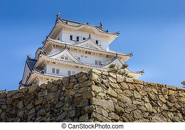 View of the Himeji castle, Hyogo, Japan