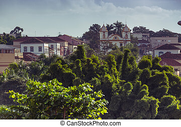 view of the historical town Brazil
