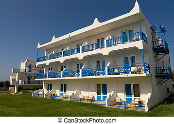 View of the hotel(Greece)