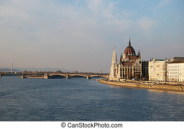 View of the Hungarian Parliament