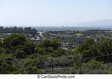 Inglewood Oil Field - View of the Inglewood Oil Field in Los...