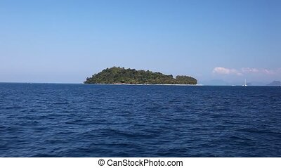 View of the island by boat 14