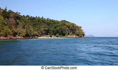 View of the island by boat 21