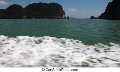 View of the island by boat 9
