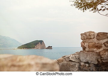 island of St. Nicholas, Montenegro