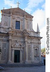 Jesuit church of St. Ignatius, Dubrovnik - View of the...