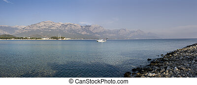 View of the Kemer bay