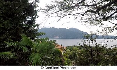 View of the Lago Maggiore from the top