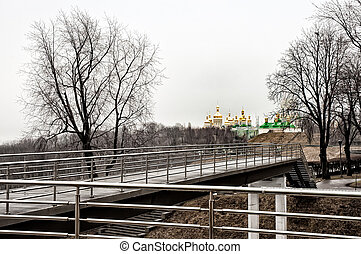 View of the Lavra Monastery in Kiev