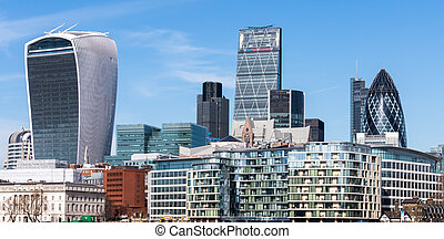 View of the London Skyline