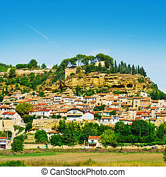 Medieval City - View of the Medieval City in France
