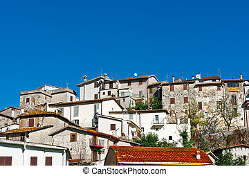 Medieval City - View of the Medieval City in Umbria, Italy