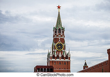 View of the Moscow Kremlin, Red Square