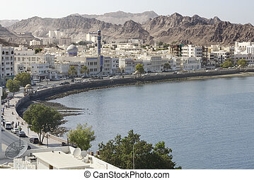 View of the Muscat's old town