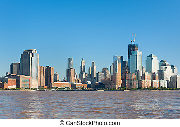 View of the New York