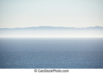 View of the Pacific Ocean