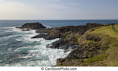 View of the Peninsula at Kiama on the south coast of New ...
