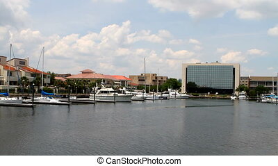 Pensacola Yacht Harbor - View of the Pensacola Yacht Harbor...
