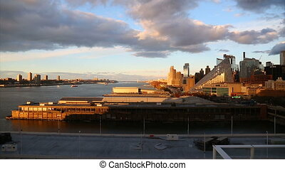 view of the pier in New York