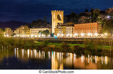 View of the Porta San Niccolo in Florence - Italy