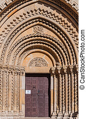 View of the Portal of the Church of Jak is a functioning...