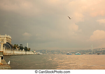 view of the quay ortakoy