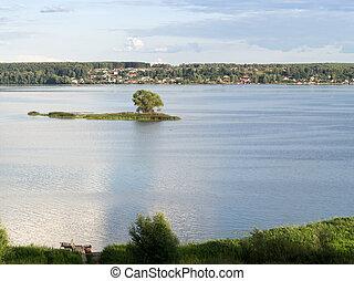 view of the river Volga