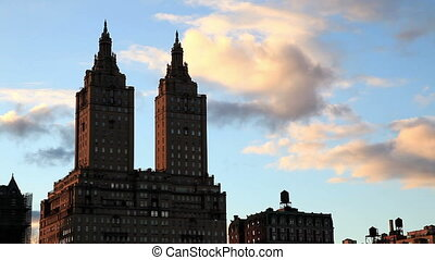 San Remo twin towers