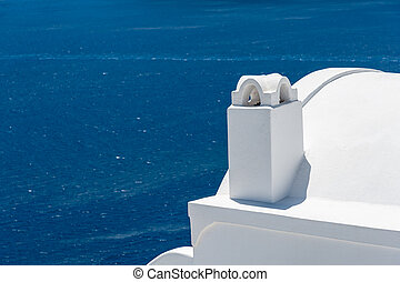 View of the sea from Oia village - Santorini