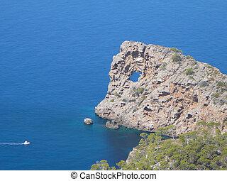 View of the sea in Valldemossa