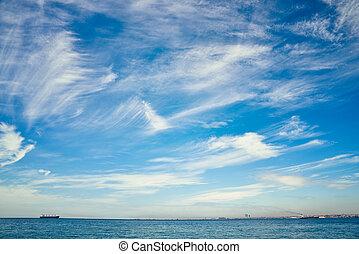 The Sea of Marmara - View of The Sea of Marmara in Istanbul