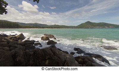 View of the sea. Thailand, Kamala
