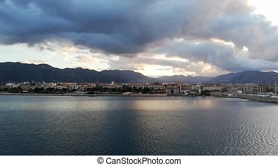 View of the Sicilian coast of Palermo 3