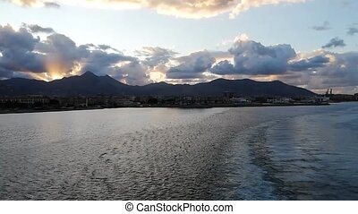 View of the Sicilian coast of Palermo 5